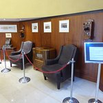 Historic Display in Lobby