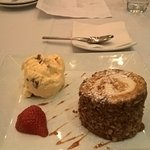 Carrot cake - not your usual presentation