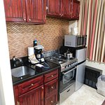 Kitchenette in the Room: All the conveniences of home.