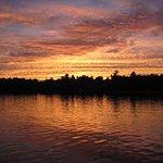 A Lake George sunset.