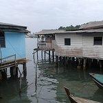 Typical Tanjung Pinang stilt housing