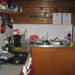 Kitchenetter, we cooked most of our meals and this kitchen was perfect.