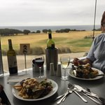 Magnificent steak trawler-done to perfection and good value too-inexpensive good wine too!