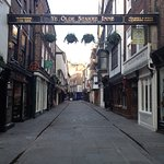 Start point of ghost walk Stonegate York