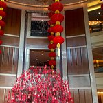 Lobby during Chinese New Year