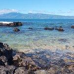View from Gazebo Reataurant to Molokai Islandi