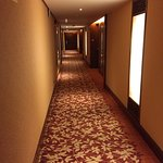 The hall way to the room