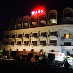 Night View of hotel front
