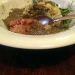 Dumplings with lentils