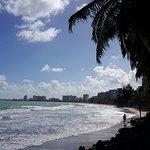 Isla Verde beach.