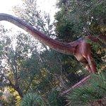 Dinosaur display area