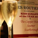Restaurant of the Year 2017!
