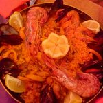 Paella at the Rincon del Encarne, Calle Rodriguez Acosta, Nerja