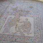 Mosaico en uno de los salones