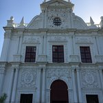 The exteriors of St. Paul's church Diu. An amazing church and one of the oldest churches in Indi