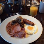 Lovely fresh cooked breakfast, plenty of choice.
