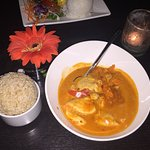 Chicken Pa-Nang Curry w/ Brown Rice