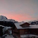 Gorgeous sunrise from balcony