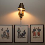 Wall Decor in the carriage house