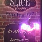 Slice of Vegas sign