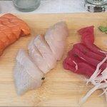 Sashimis ,thon , daurade,saumon