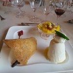 Dessert : vacherin Grand Marnier