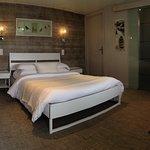 Chambre double supérieure avec terrasse rez de chaussé