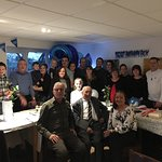 Norman Ford's 90th Birthday celebration, wonderfully hosted by Francesca and her attentive team.