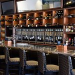 Bar area - with 70 wines by the glass!