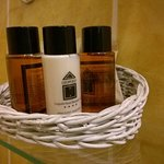 Amenities included shower gel/shampoo, shower cap, body lotion, shoe polish etc.