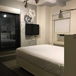 One of the 1-bedroom suites at the Stewart!  Fabulous