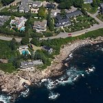 Cape Arundel Inn & Resort Aerial View