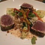 Seared Ahi with vegetables