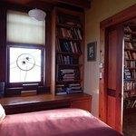 Downstairs bedroom off living room