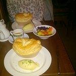 Local Wild Rabbit Pie with Creamed Leek & Elderflower and Lamb, Redcurent & Rosemary Pie
