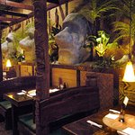 "The Tiki Terrace has a ""Loungie"" feel and atmosphere"