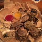 1 dozen of steamed oysters