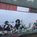 Image from the peace wall