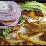 Ahi burger.