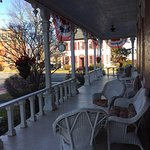 The porch will be perfect when we visit in the spring/summer.