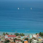 View of St. Lucia