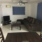 Large room, comfy sofa