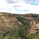 Vista from Petroglyph Point, Mesa Verde National Park, Colorado
