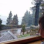 Un poco de nieve nos tocó siiiiiii