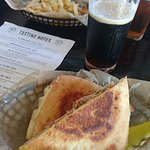 Cuban Sandwich and Hazelnut Brown beer