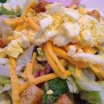 Dinner salad.