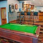 Free pool/ Bar area