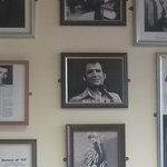 Lots of Big Bands and Theatre posters and photos around all the walls.