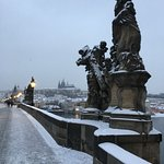Charles bridge is just 5 minutes by foot from hotel