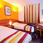Chambre twin avec 2 lits séparés